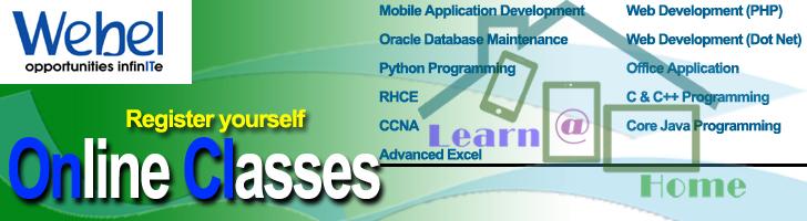 Webel Online Courses